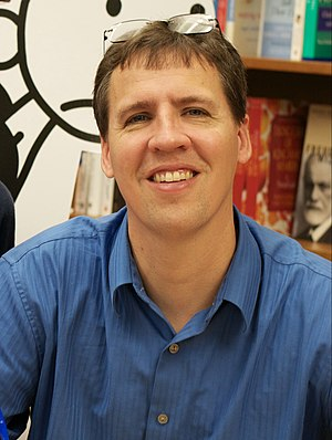 Jeff Kinney (author) - Kinney at a book signing event in November 2011