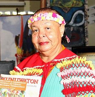 Trinidadian cultural activist and civil servant, Carib Queen (2011-2018)