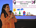 Jeroo Billimoria at ChildFinance Expert Meeting 2011.jpg