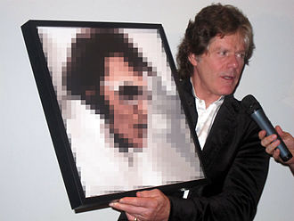 Jerry Schilling - Schilling, with an image of Elvis