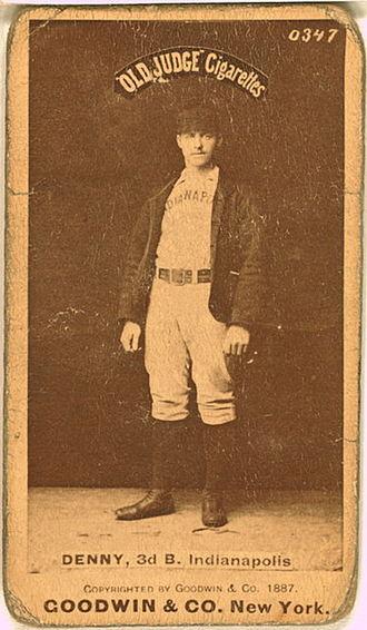 Jerry Denny - Image: Jerry Denny Baseball Card