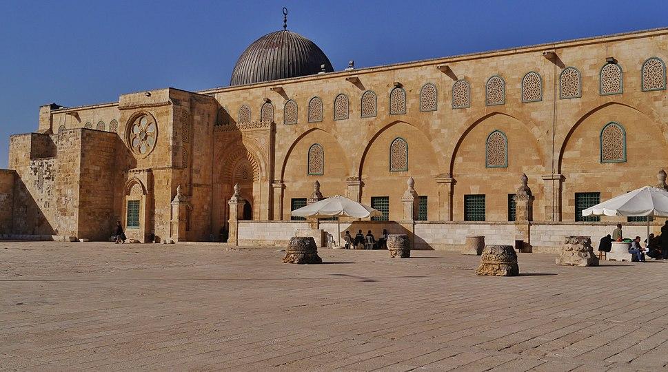 Jerusalem Tempelberg Al-Aqsa-Moschee 5