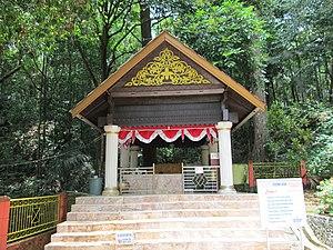 Teuku Umar - Teuku Umar's tomb in Mugo Rayek, Panton Reu, West Aceh Regency