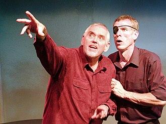 Steve Schalchlin - Image: Jim Brochu and Steve Schalchlin The Big Voice God or Merman