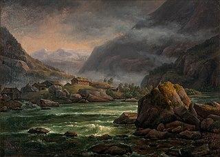 River in Hardanger
