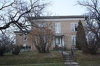 John S. Horner - Horner's house in Ripon, listed on the National Register of Historic Places as the John Scott Horner House.