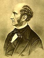 Il filosofo John Stuart Mill.