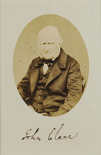 John Clare - The only known photograph of Clare, 1862