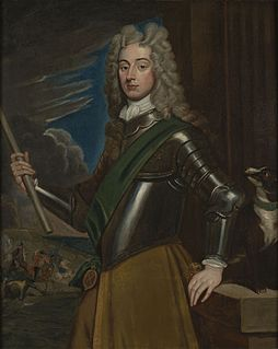 John Dalrymple, 2nd Earl of Stair 18th-century Scottish soldier and diplomat
