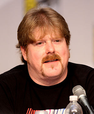 John DiMaggio - DiMaggio on a panel for Futurama at the 2010 San Diego Comic-Con International