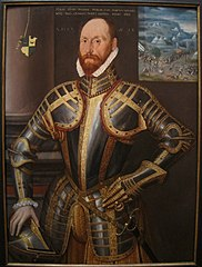 Portrait of John Farnham, Gentleman-Pensioner to Elizabeth I