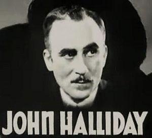 John Halliday (actor) - Halliday in the trailer for Registered Nurse (1934)
