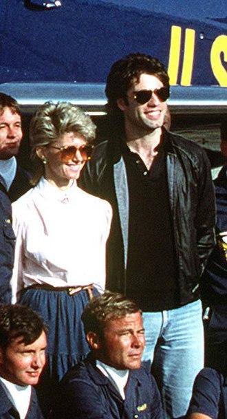 Olivia Newton-John - Newton-John appearing with John Travolta in 1982