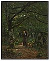 John Washington Love - In Fontainebleau Woods (Fontainebleau Forest) - 35.77 - Indianapolis Museum of Art.jpg