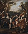 John Wootton. Hounds and a Magpie (c. 1682-1764) (27625064190).jpg