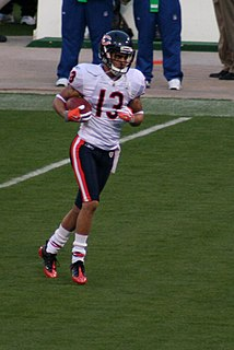 Johnny Knox American football wide receiver and return specialist