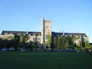Johnston Hall (University of Guelph) - Image: Johnston Hall, University of Guelph
