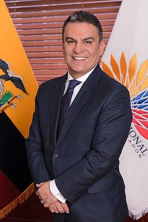 José Serrano (Ecuadorian politician) - Image: José Serrano Presidente de la Asamblea Nacional del Ecuador