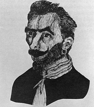 José Gaspar - José Gaspar as illustrated in the 1900 brochure