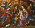Josefa de Óbidos - A Sagrada Família com São João Batista, Santa Isabel e Anjos.png