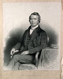 Joseph Beaumont. Lithograph by C. Baugniet, 1847. Wellcome V0000421.jpg