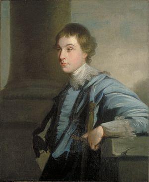 Lord Charles Spencer - Lord Charles Spencer, portrait by Joshua Reynolds