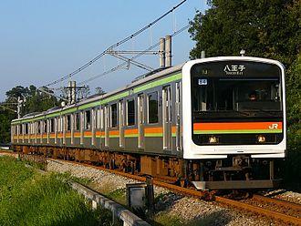 Hachikō Line - Image: Jreast 209 3000