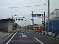 Jreast yamagataline kanisawa railroad crossing.jpg