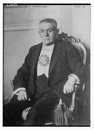Juan Campisteguy - Image: Juan Campisteguy Oxcoby in 1917