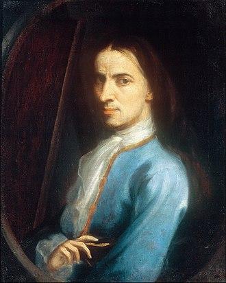Juan Rodríguez Juárez - Self-portrait
