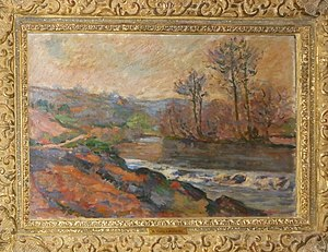Judges' Lodgings, Lancaster - The Creuse at Genetin, Armand Guillaumin