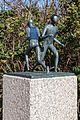 Juist, Skulptur -Strandläufer- -- 2014 -- 3587.jpg