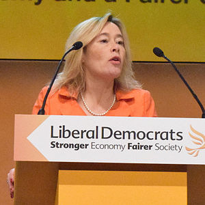 Julie Smith, Baroness Smith of Newnham - Julie Smith speaking at a Liberal Democrat Conference in Glasgow, 2014