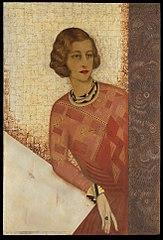 Portrait of Juliette de Saint Cyr