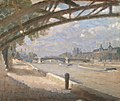 Julius Paulsen-Under the Pont des Arts.jpg