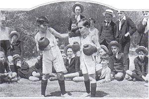 Public Schools Association - Junior Boxers at CBC (1933). Boxing was once a PSA Sport