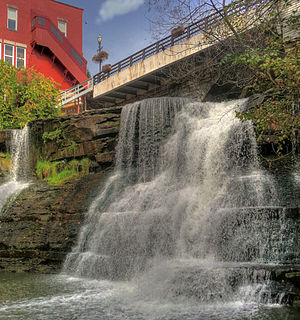 In the village of Chagrin Falls, Ohio