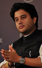 Jyotiraditya Scindia at the India Economic Summit 2009 cropped.jpg