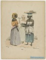 KITLV - 36C330 - Bray, Th. - Petit - Female peddlar of pancakes - Colour lithography - 1850.tif