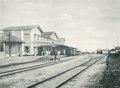 KITLV - 80215 - Kleingrothe, C.J. - Medan - Railway station at Medan, Sumatra - 1898.tif