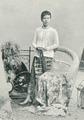 KITLV - 80260 - Kleingrothe, C.J. - Medan - Javanese woman, presumably in the east coast of Sumatra - 1898.tif