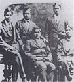 K Ananda Rau seated with Ramanujan.jpg