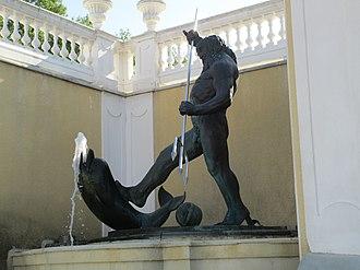 Poseidon - Poseidon in Kadriorg Palace, Tallinn