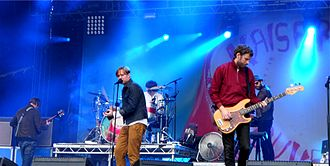 Kaiser Chiefs discography - Kaiser Chiefs performing at the Festival Beauregard in 2012.
