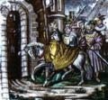 Kaiser Constantin das heilig kreutz und jerusalem bringend (provavelm. séc. XVI), Palácio da Pena (cropped).png