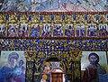 Kakopetria Kirche Agios Nikolaos tis Stegis Innen Ikonostase 3.jpg