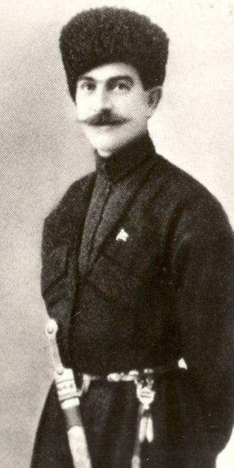 Kakutsa Cholokashvili - Cholokashvili in France in the 1920s