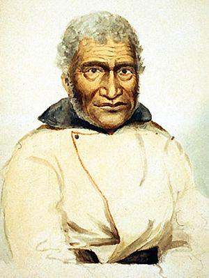 Naukane - Portrait of Naukane, 1847, by Paul Kane.