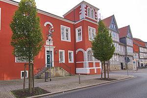 Braunschweigisches Landesmuseum - Image: Kanzlerhaus 16. Jhd. in Wolfenbüttel IMG 3049