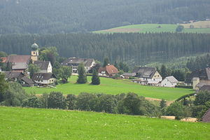Lenzkirch - Kappel from the north